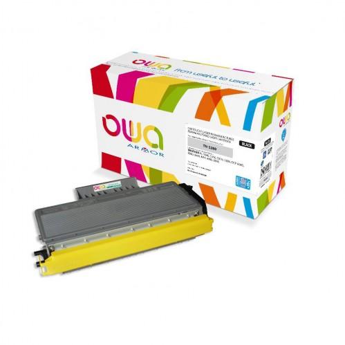 Cartouche Laser OWA remanufacturée compatible BROTHER TN-3280 - Noir - 11000p