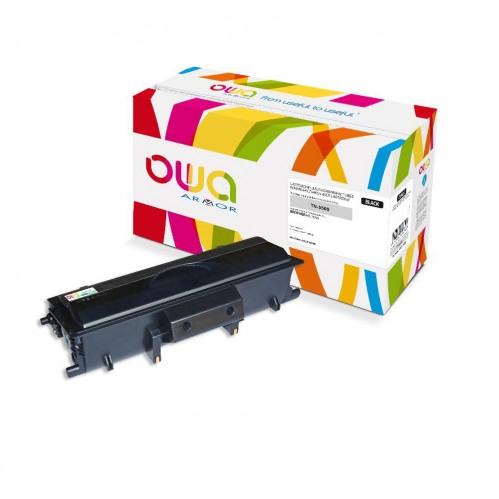 Cartouche Laser OWA remanufacturée compatible BROTHER TN-5500 - Noir - 12000p