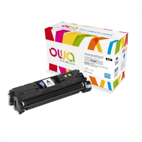 Cartouche Laser OWA remanufacturée compatible BROTHER TN-3060 - Noir - 11700p