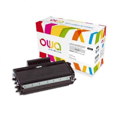 Cartouche Laser OWA remanufacturée compatible BROTHER TN-3130 - Noir - 3500p