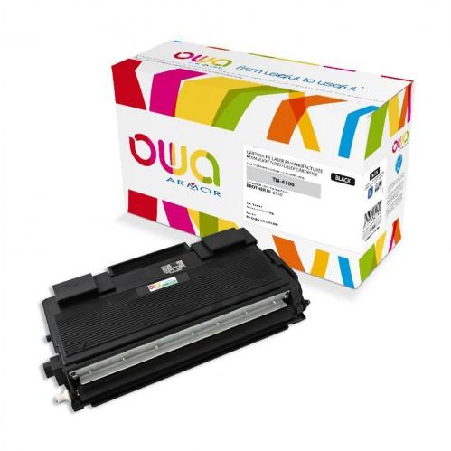 Cartouche Laser OWA remanufacturée compatible BROTHER TN-4100 - Noir - 7500p