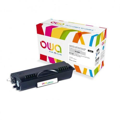 Cartouche Laser OWA remanufacturée compatible BROTHER TN-3060 - Noir - 6700p