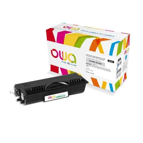 Cartouche Laser OWA remanufacturée compatible BROTHER TN-6600, TN-6300 - Noir - 6000p