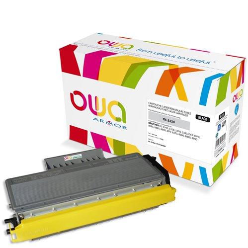Cartouche Laser OWA remanufacturée pour BROTHER TN-3230 - Noir - 3000p