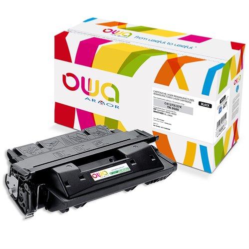 Cartouche Laser OWA remanufacturée pour HP C4127X - Noir - 10000p