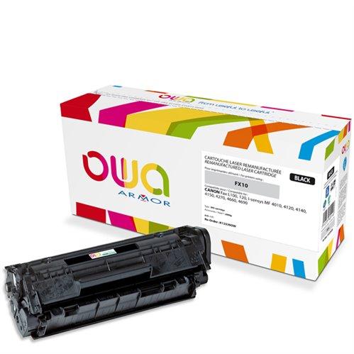 Cartouche Laser OWA remanufacturée pour CANON 0263B002 - Noir - 2000p