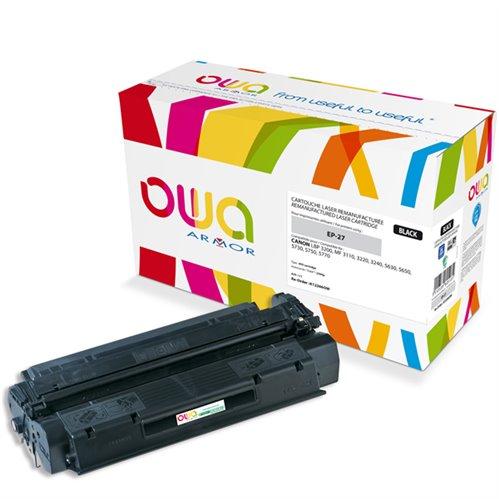 Cartouche Laser OWA remanufacturée pour CANON 8489A002 - Noir - 2500p