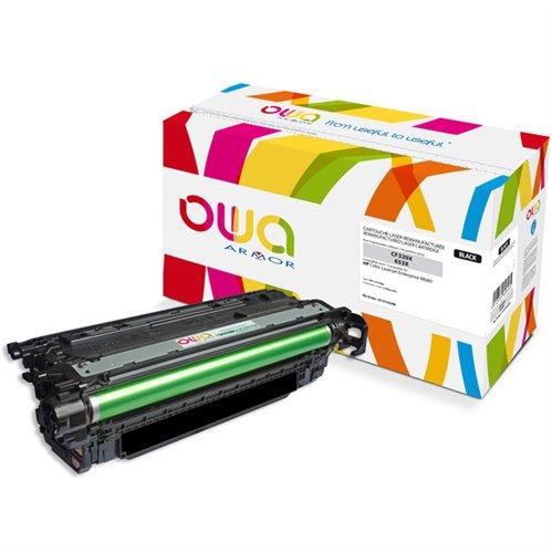 Cartouche Laser OWA remanufacturée pour HP CF320X - Noir - 21000p HC