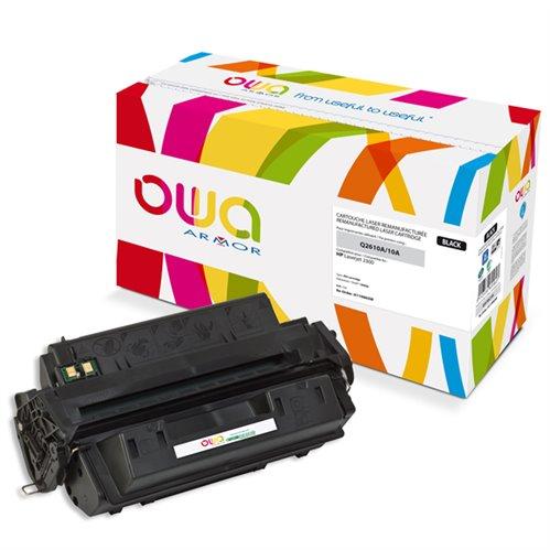 Cartouche Laser OWA remanufacturée pour HP Q2610A - Noir - 6000p