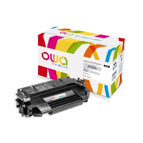 Cartouche Laser OWA remanufacturée compatible HP 92298A - Noir - 6800p