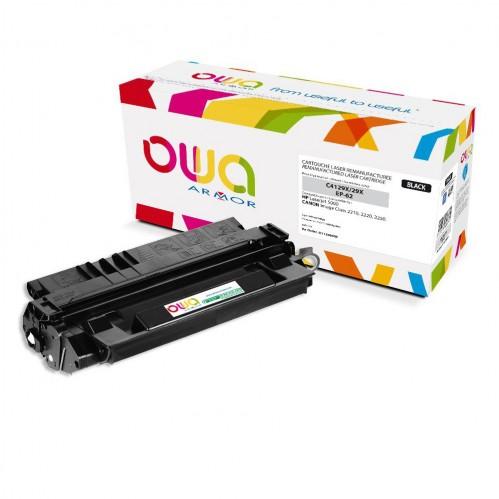 Cartouche Laser OWA remanufacturée compatible HP C4129X - Noir - 10000p