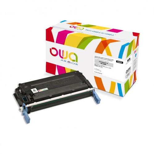 Cartouche Laser OWA remanufacturée compatible HP C9720A - Noir - 9000p