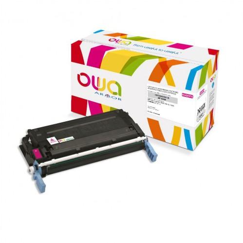 Cartouche Laser OWA remanufacturée compatible HP C9723A - Magenta - 8000p