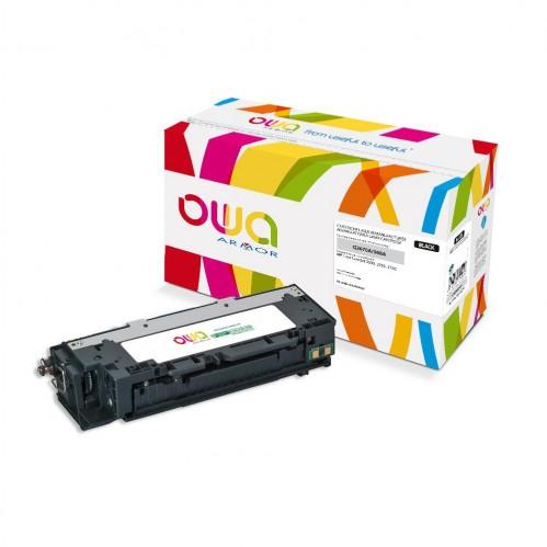 Cartouche Laser OWA remanufacturée compatible HP Q2670A - Noir - 6000p