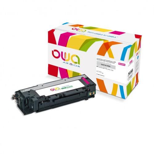 Cartouche Laser OWA remanufacturée compatible HP Q2673A - Magenta - 4000p