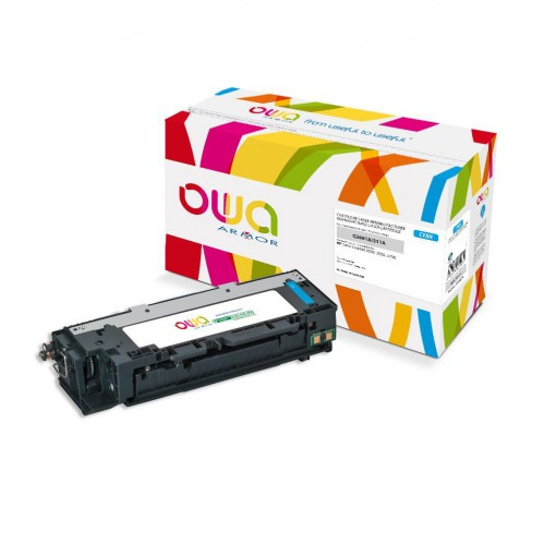 Cartouche Laser OWA remanufacturée compatible HP Q2681A - Cyan - 6000p