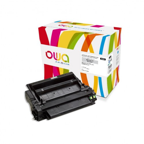 Remanufactured OWA laser cartridge compatible with HP Q6511X - Black - 12000p