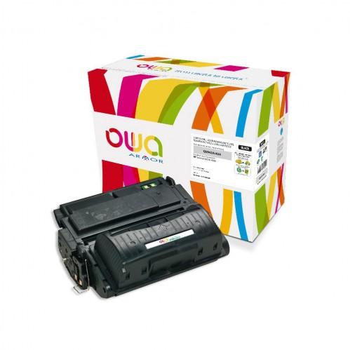 Cartouche Laser OWA remanufacturée compatible HP Q5942A - Noir - 10000p