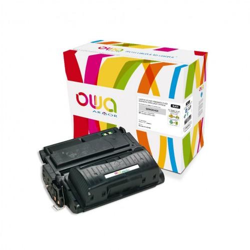 Cartouche Laser OWA remanufacturée compatible HP Q5942X - Noir - 20000p