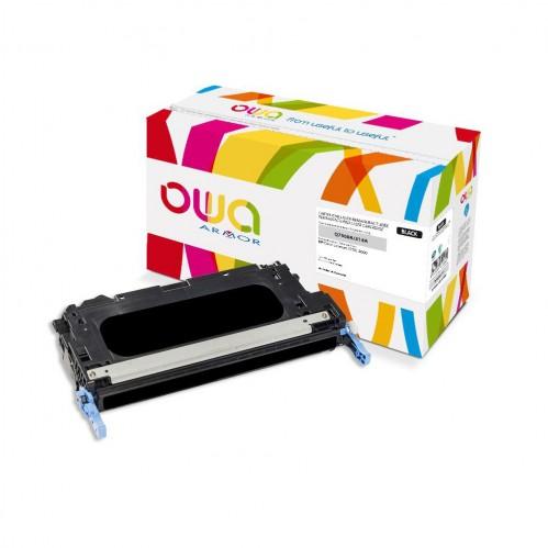 Cartouche Laser OWA remanufacturée compatible HP Q7560A - Noir - 6500p