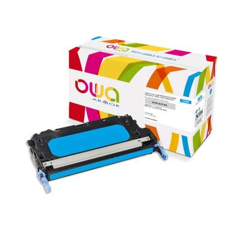 Cartouche Laser OWA remanufacturée compatible HP Q7561A - Cyan - 3500p