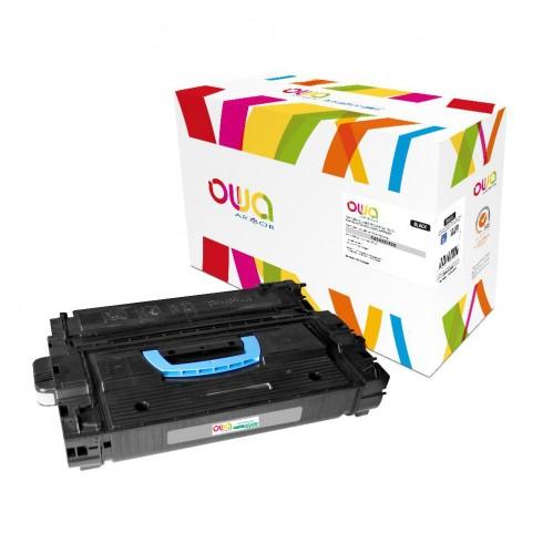 Cartouche Laser OWA remanufacturée compatible HP C8543X - Noir - 30000p