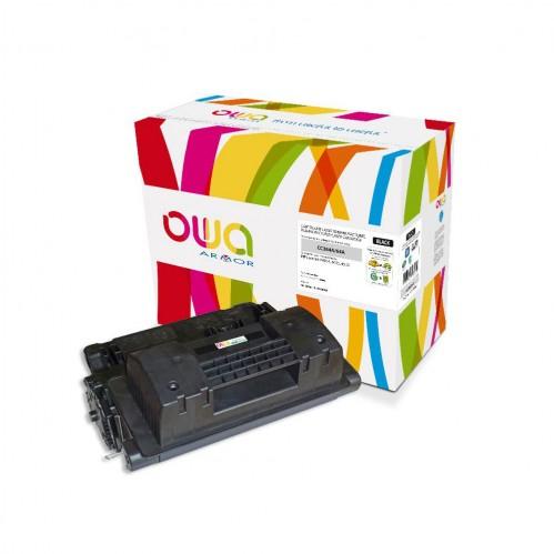 Cartouche Laser OWA remanufacturée compatible HP CC364A - Noir - 10000p