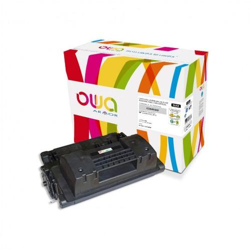 Cartouche Laser OWA remanufacturée compatible HP CC364X - Noir - 24000p