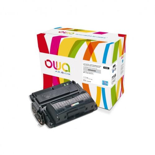 Cartouche Laser OWA remanufacturée compatible HP Q5942X - Noir - 30000p