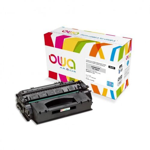 Cartouche Laser OWA remanufacturée compatible HP Q5949X - Noir - 10400p