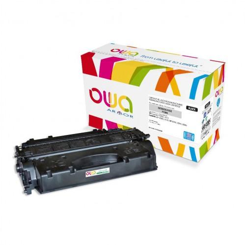 Cartouche Laser OWA remanufacturée compatible HP CE505X - Noir - 9900p