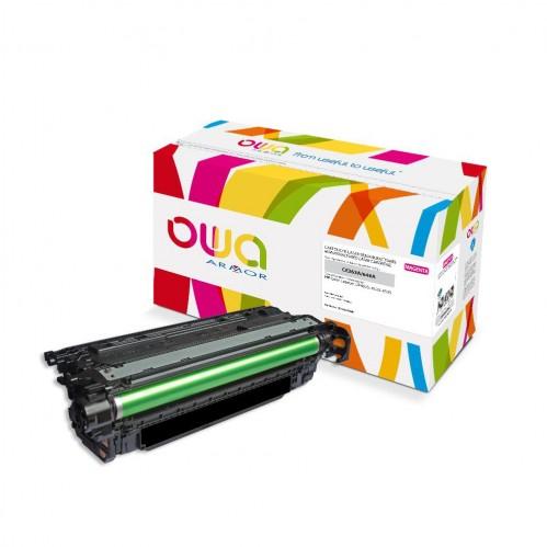 Cartouche Laser OWA remanufacturée compatible HP CE263A - Magenta - 11000p