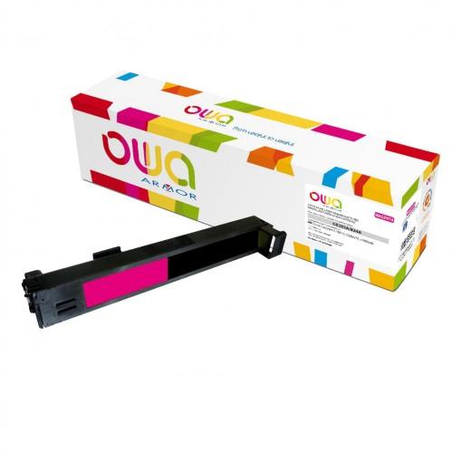 Cartouche Laser OWA remanufacturée compatible HP CB383A - Magenta - 21000p