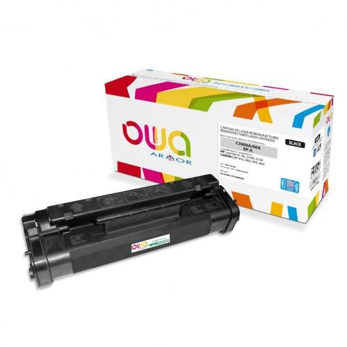 Cartouche Laser OWA remanufacturée compatible HP C3906A - Noir - 4200p