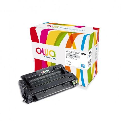 Cartouche Laser OWA remanufacturée compatible HP Q7551X - Noir - 16000p