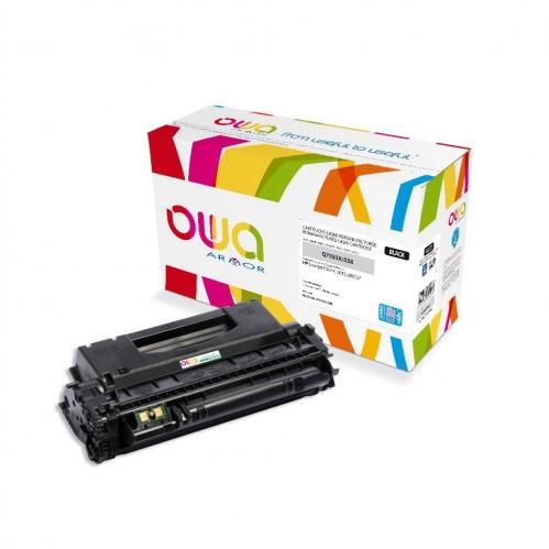 Cartouche Laser OWA remanufacturée compatible HP Q7553X - Noir - 10000p