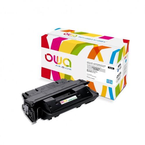 Cartouche Laser OWA remanufacturée compatible HP C4127X - Noir - 15000p