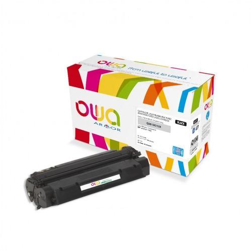 Cartouche Laser OWA remanufacturée compatible HP Q2613X - Noir - 7500p