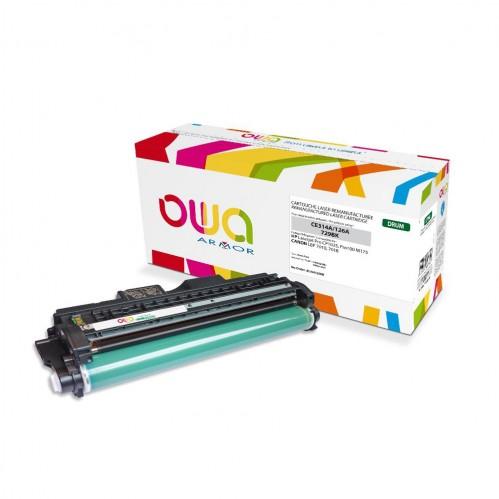 Tambour OWA remanufacturé compatible HP CE314A - Noir - 2500p