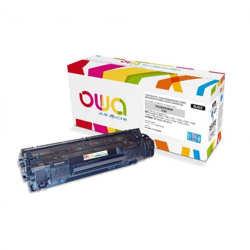Cartouche Laser OWA remanufacturée compatible HP CE285A - Noir - 3200p