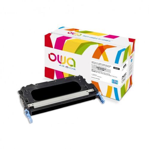 Cartouche Laser OWA remanufacturée compatible HP Q6470A - Noir - 11000p