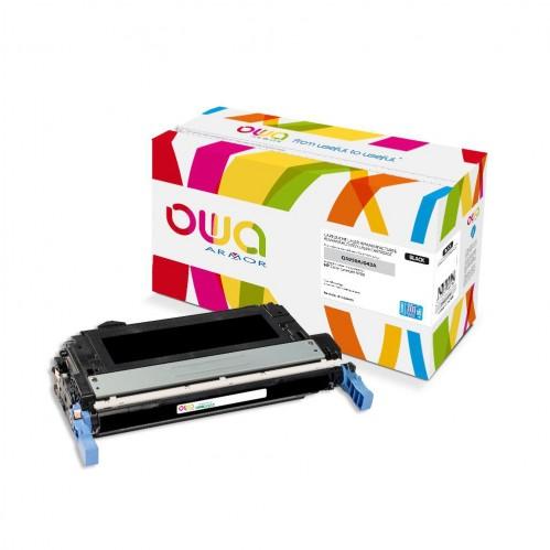 Cartouche Laser OWA remanufacturée compatible HP Q5950A - Noir - 15000p