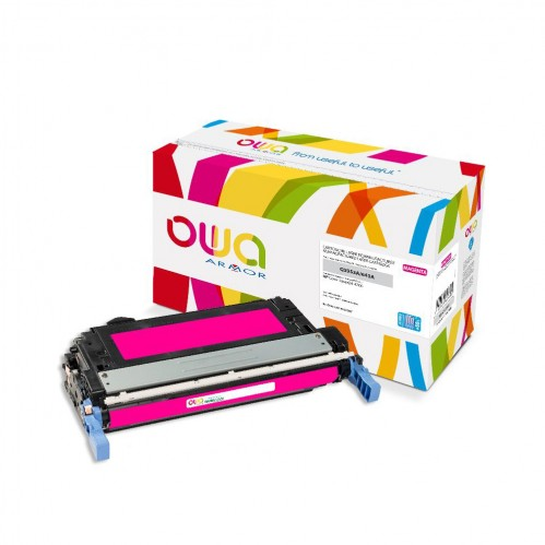 Cartouche Laser OWA remanufacturée compatible HP Q5953A - Magenta - 15000p