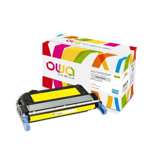 Cartouche Laser OWA remanufacturée compatible HP Q5952A - Jaune - 15000p