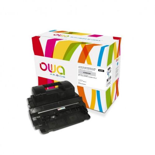 Cartouche Laser OWA remanufacturée compatible HP CE390X - Noir - 24000p