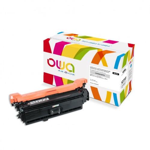 Cartouche Laser OWA remanufacturée compatible HP CE400A - Noir - 5500p