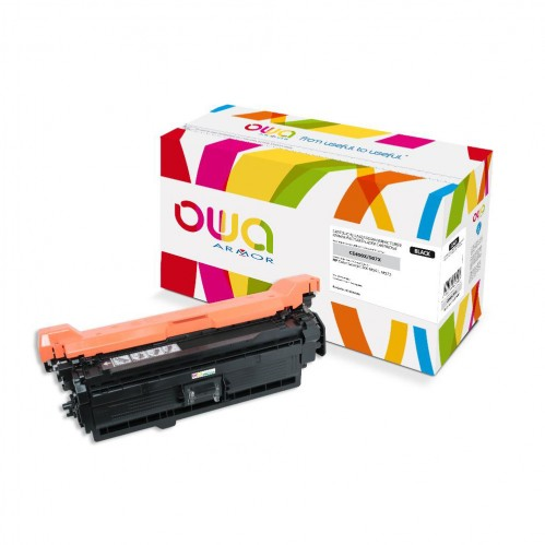 Cartouche Laser OWA remanufacturée compatible HP CE400X - Noir - 11000p