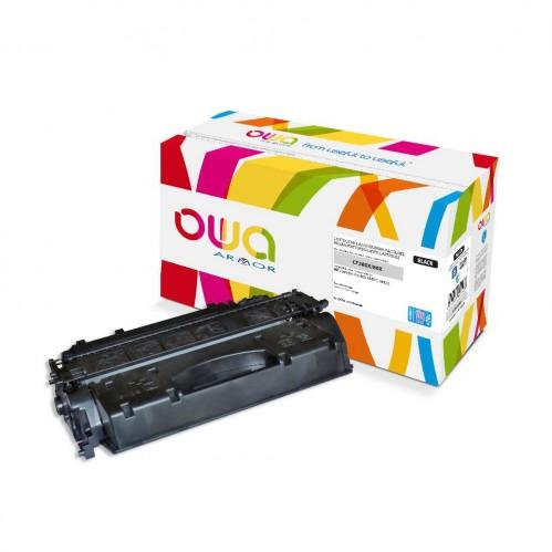 Cartouche Laser OWA remanufacturée compatible HP CF280X - Noir - 11800p