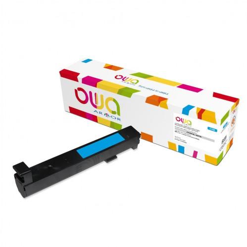 Cartouche Laser OWA remanufacturée compatible HP CF301A - Cyan - 32000p