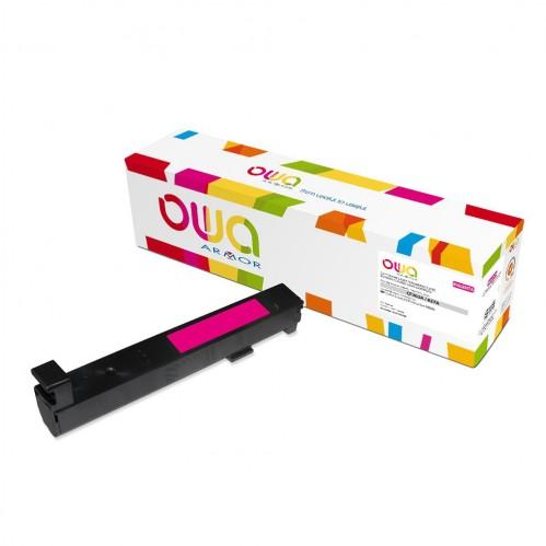 Cartouche Laser OWA remanufacturée compatible HP CF303A - Magenta - 32000p